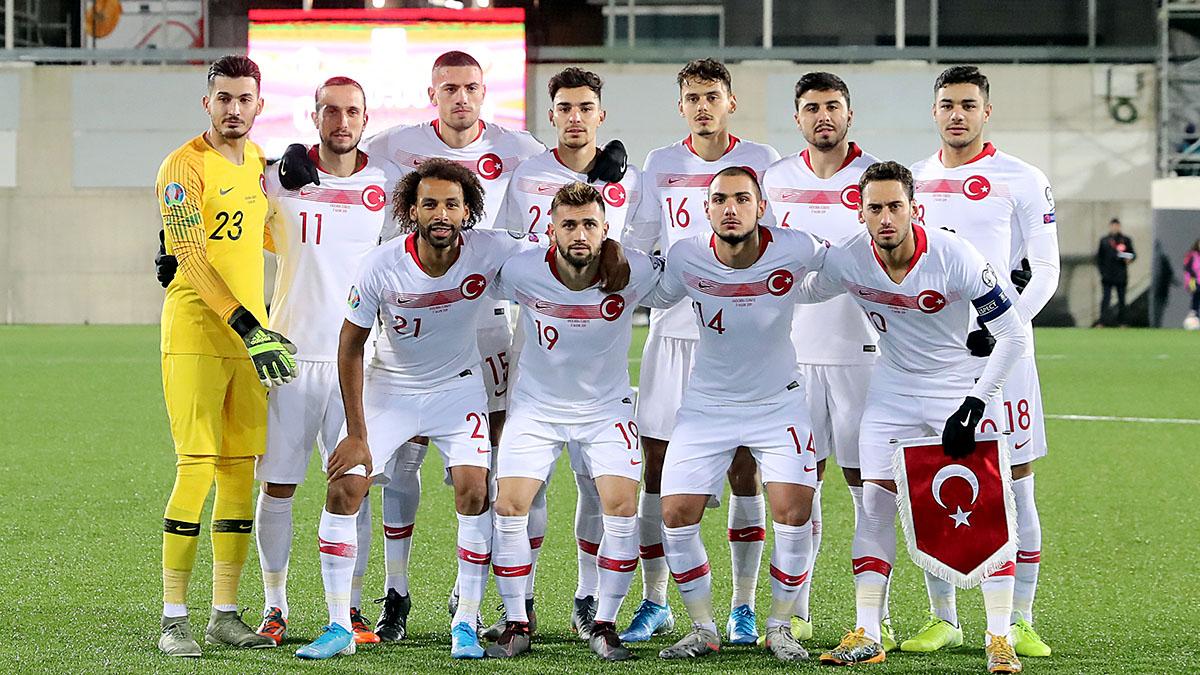 A Milli Futbol Takımımız, EURO 2020'ye galibiyetle gidiyor