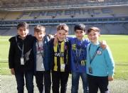 Fenerbahçe takım otobüsüyle stadyum ve müze turu sürüyor