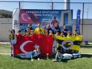 U11 Takımımız Çanakkale Şehitlerini Anma Kupası'nda şampiyon oldu