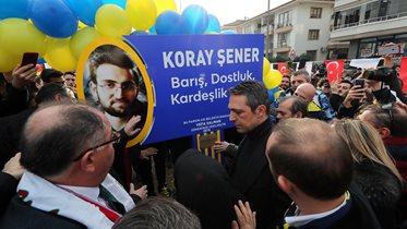 Koray Şener Barış, Dostluk ve Kardeşlik Parkı açıldı
