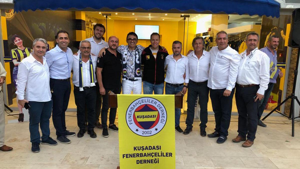 Kuşadası Fenerbahçeliler Derneğimizin yeni lokali açıldı