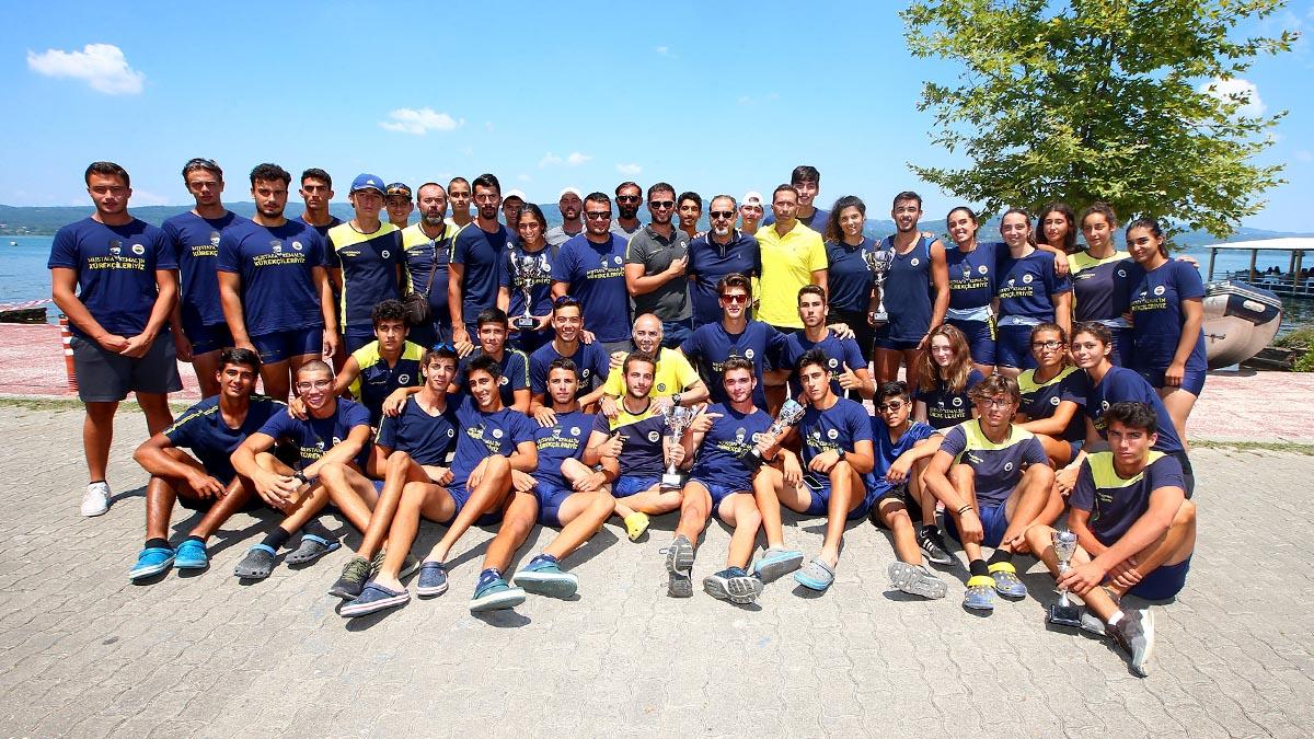 Kürek Şubemiz, genç kız ve genç erkeklerde Türkiye Kupası'nın sahibi oldu