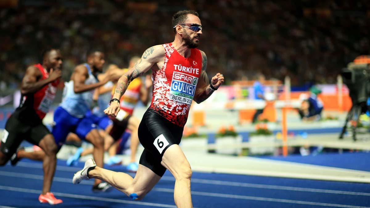 Ramil Guliyev 200 metrede ikinci oldu