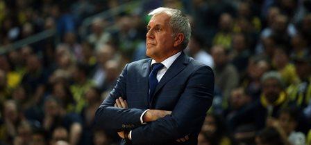 Zeljko Obradovic ve basketbolcularımız Zalgiris Kaunas galibiyetini değerlendirdi
