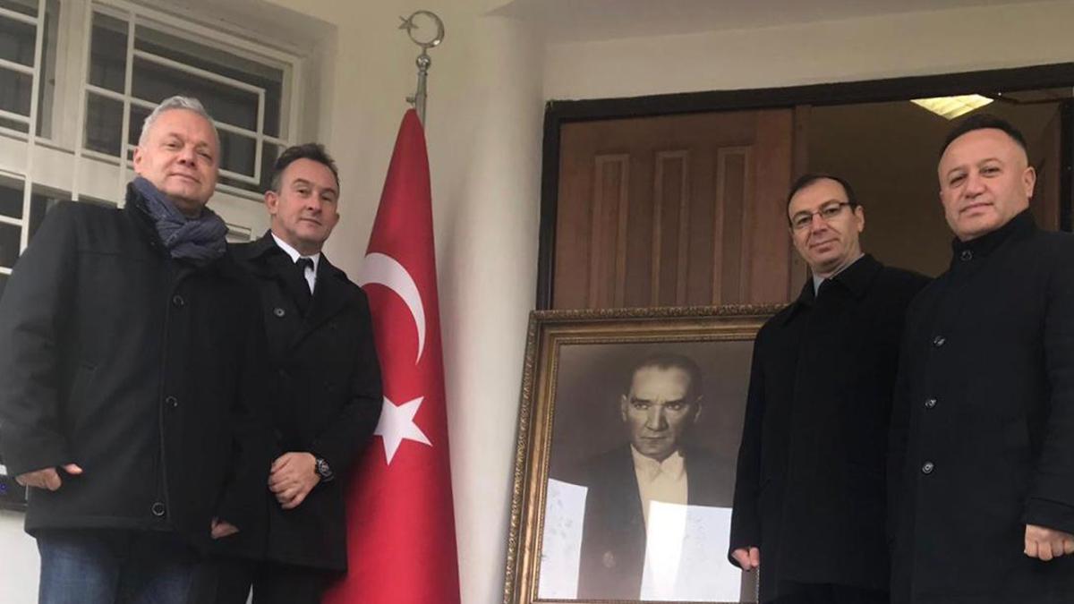 Ulu Önderimiz Gazi Mustafa Kemal Atatürk Çekya'da anıldı