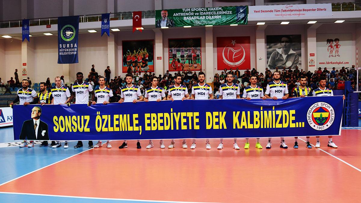 Bursa BŞB 1-3 Fenerbahçe HDI Sigorta