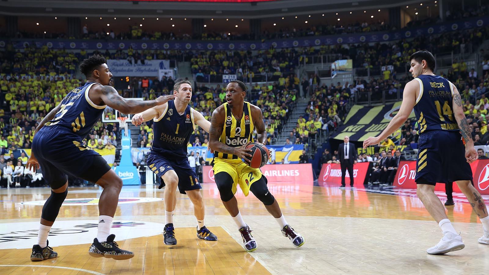 Fenerbahçe Beko 65-94 Real Madrid