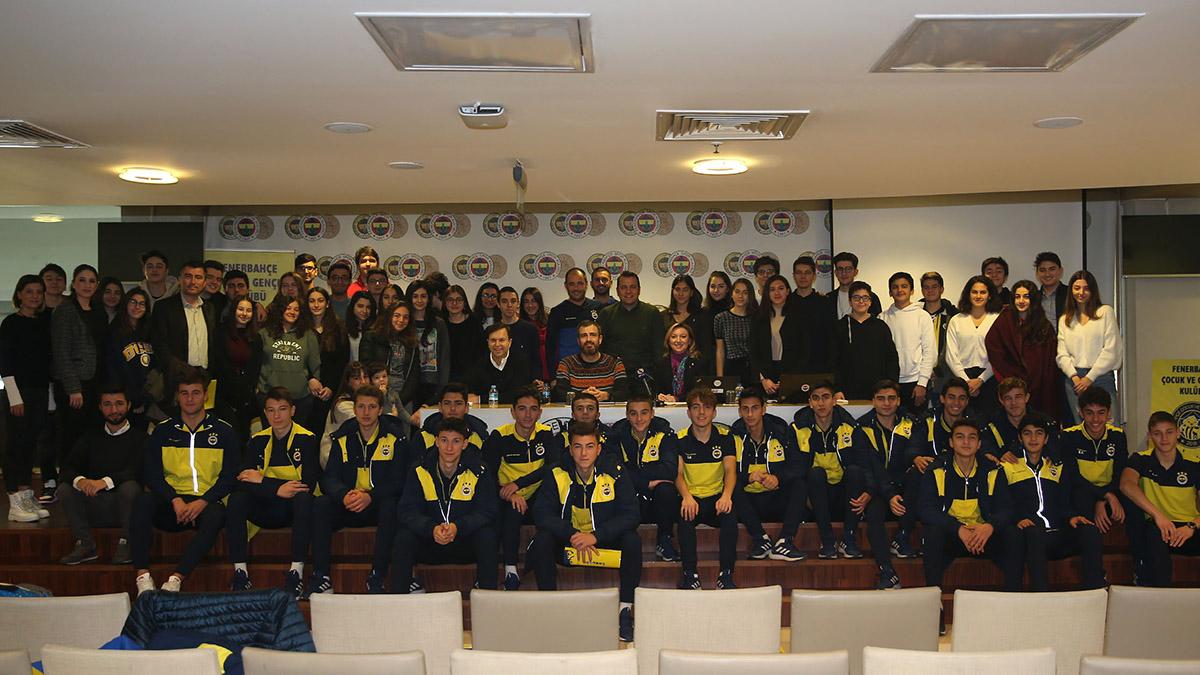 Çocuk ve Gençlik Kulübümüzün genç katılımcıları bir araya geldi