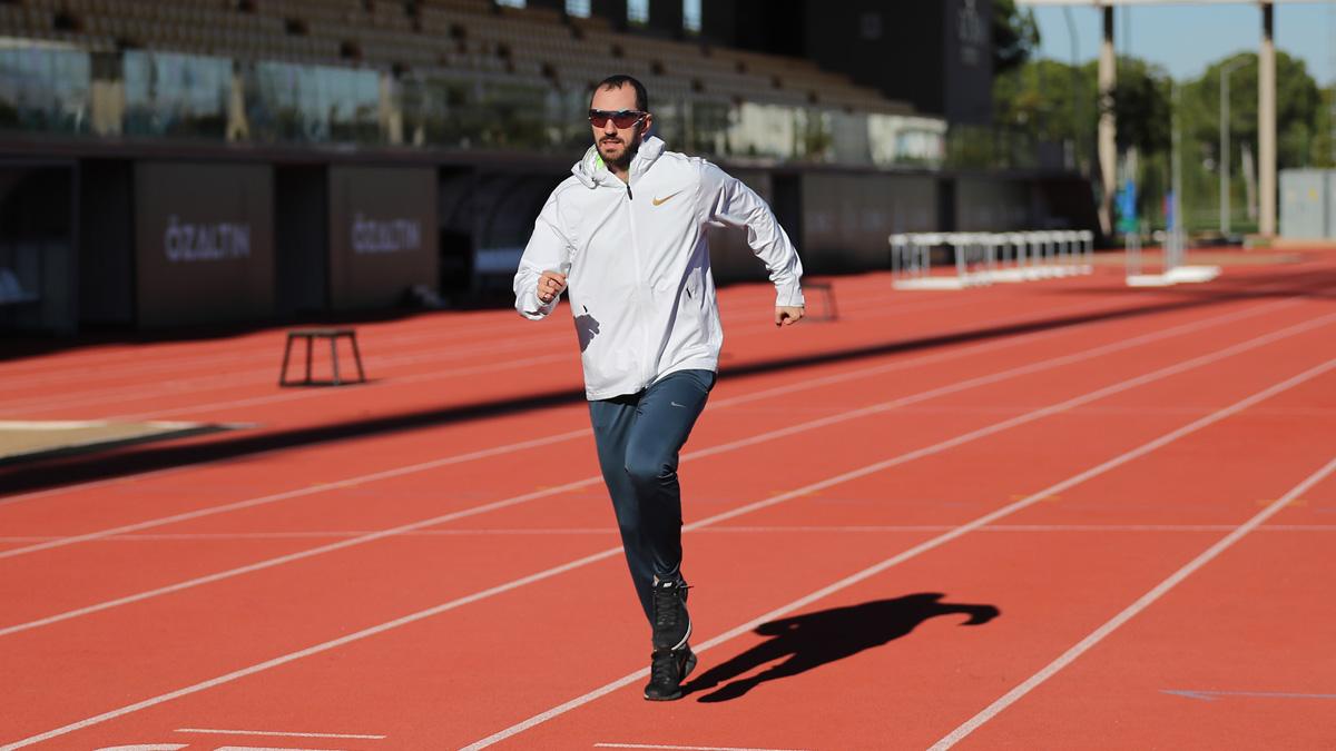 Ramil Guliyev yeni sezon hazırlıklarını Antalya'da sürdürüyor