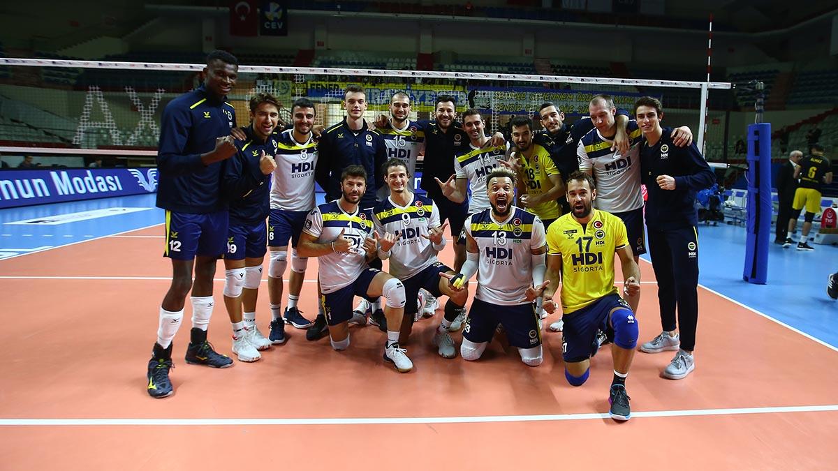 Fenerbahçe HDI Sigorta 3-1 Sorgun Belediyespor