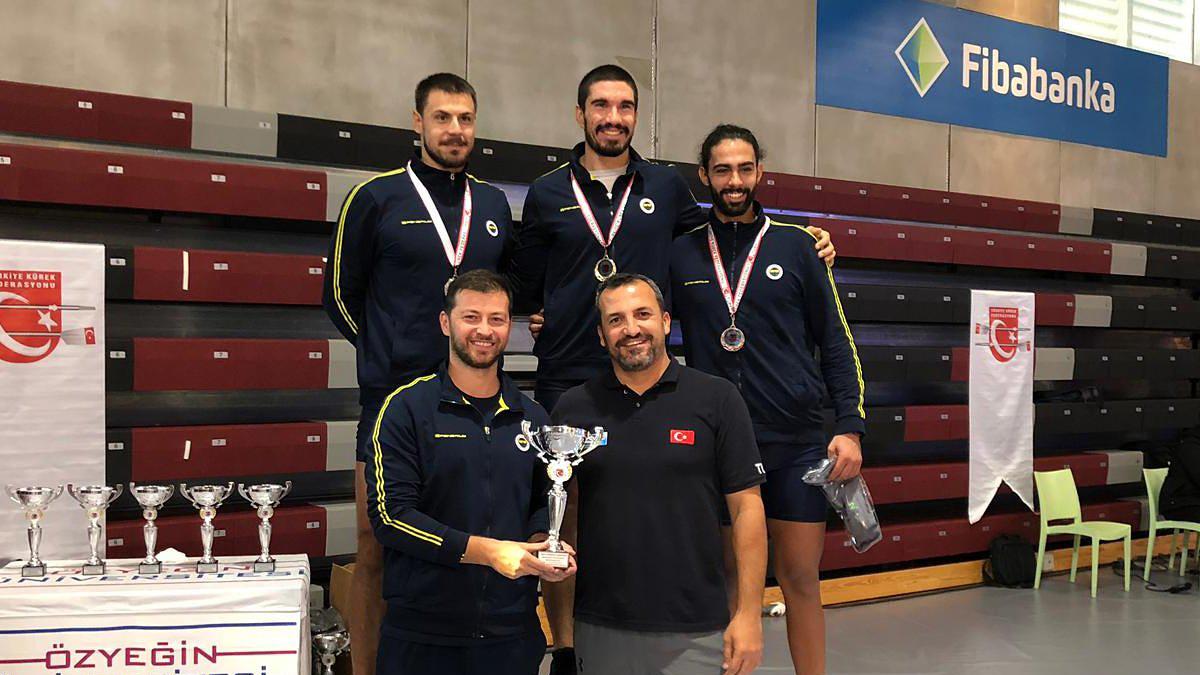 Türkiye Salon Kürek Şampiyonası'nı zirvede tamamladık