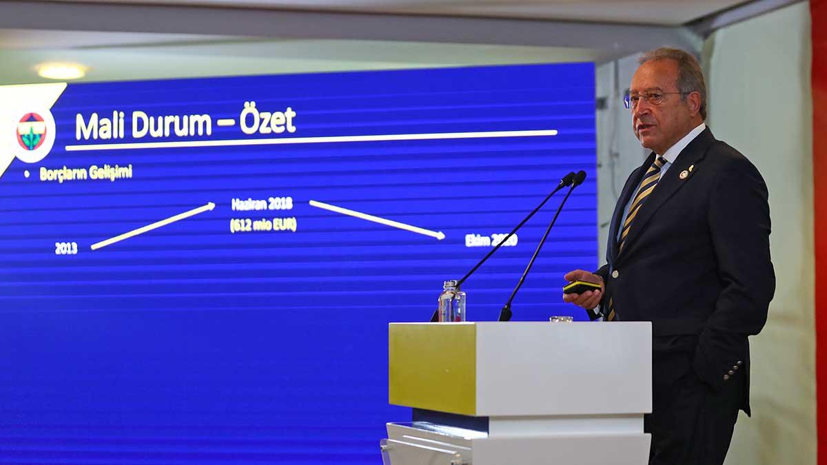 Başkan Yardımcımız Burhan Karaçam mali konular hakkında açıklamalarda bulundu
