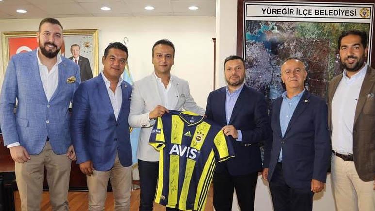 Adana Derneğimizden Yüreğir Belediye Başkanı Fatih Mehmet Kocaispir'e ziyaret