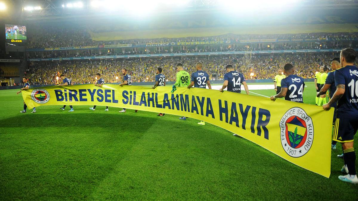 Fenerbahçe'den Bireysel Silahlanmaya karşı Çocuksuz Seremoni: Başka Selinler Ölmesin