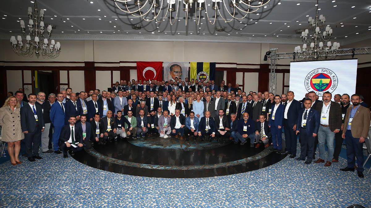 2019 YILI FENERBAHÇE YURT İÇİ DERNEKLER TOPLANTISI 92 DERNEĞİN KATILIMI İLE YAPILDI