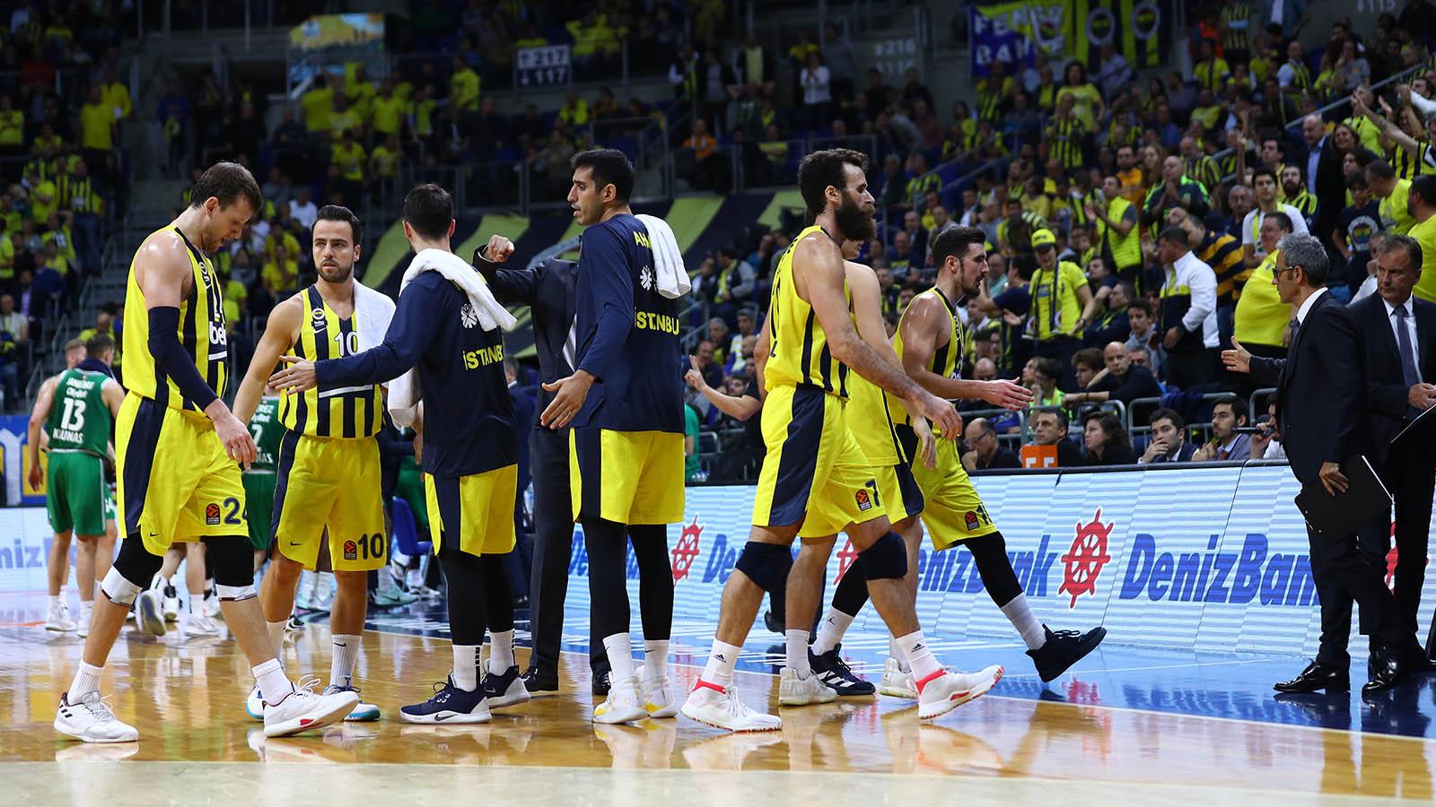 Fenerbahçe Beko 76-79 Zalgiris Kaunas