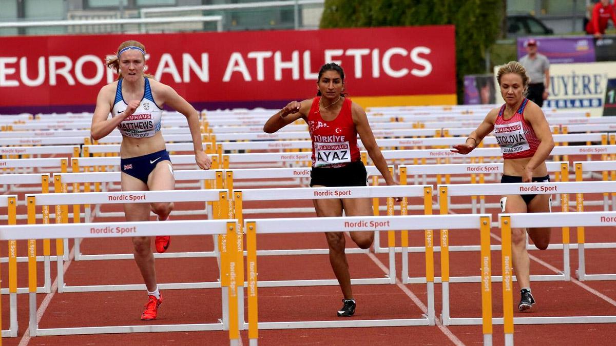 Milli atletimiz Şevval Ayaz'a geçmiş olsun dileklerimizle