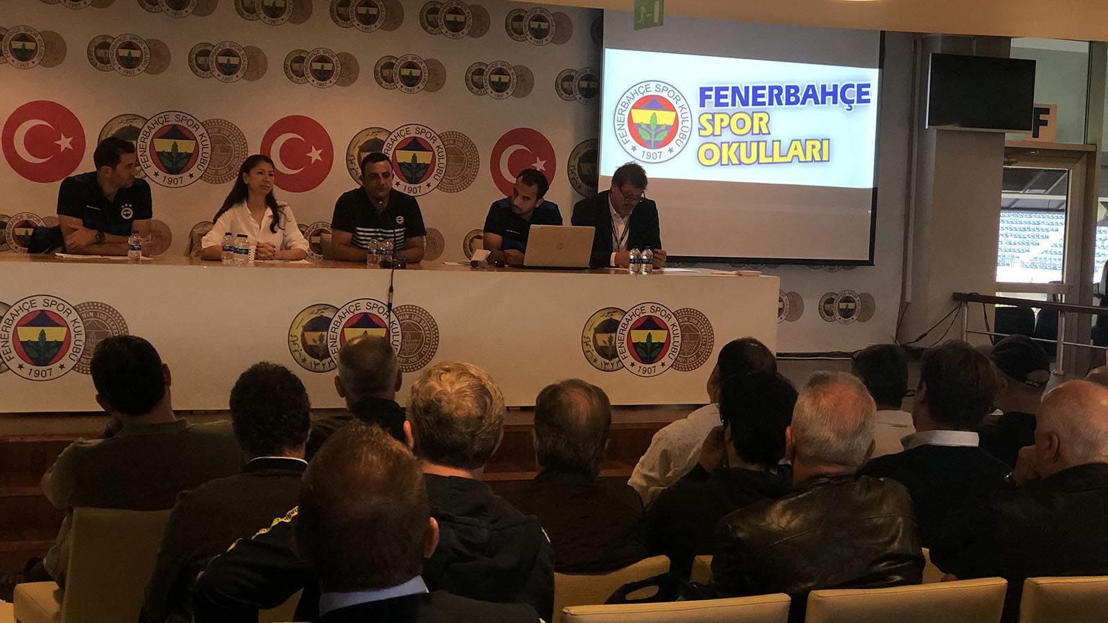 Türkiye Geneli Fenerbahçe Yetkili Spor Okulları Toplantısı Yapıldı
