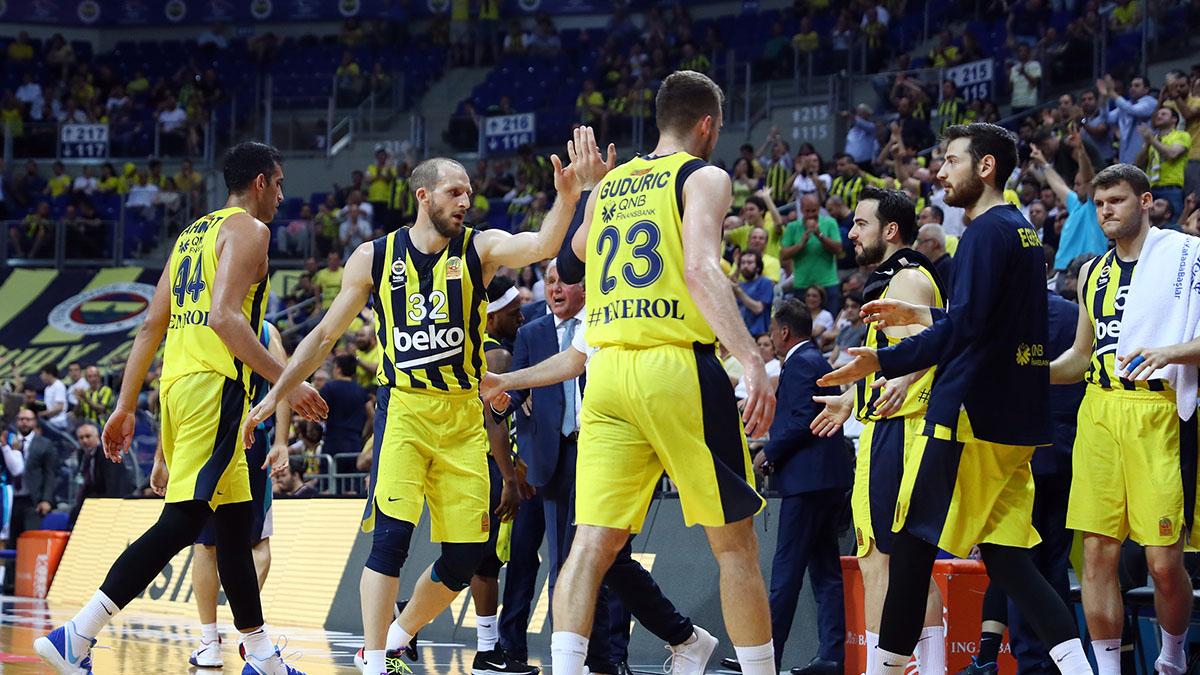 Fenerbahçe Beko, Tahincioğlu Basketbol Süper Ligi'nde yarı finale yükseldi
