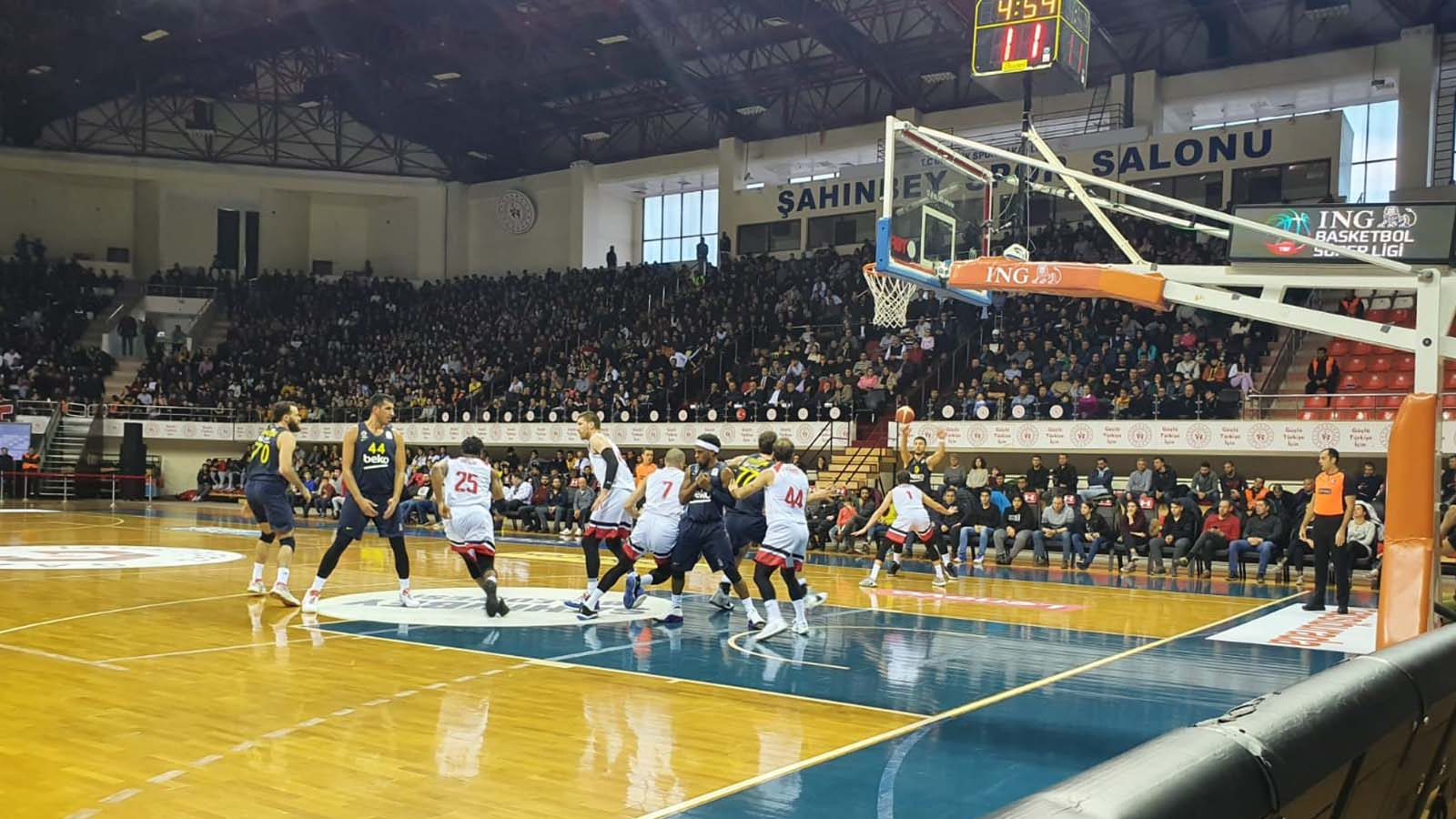 Gaziantep Basketbol 81-70 Fenerbahçe Beko