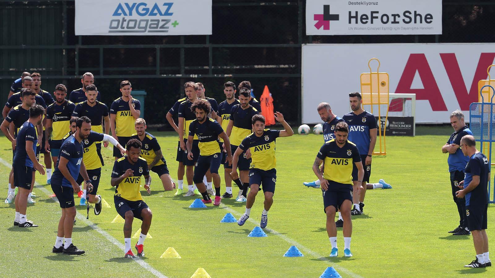 Sabah antrenmanıyla Trabzonspor maçı hazırlıklarına devam edildi