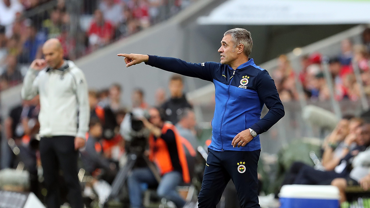 Teknik Direktörümüz Ersun Yanal Real Madrid maçının ardından açıklamalarda bulundu