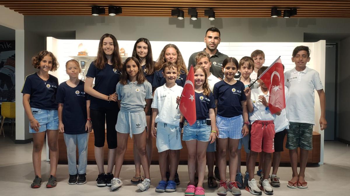 Fenerbahçe Doğuş Yelken'den Kabotaj Bayramı Yarışları'nda 6 ödül