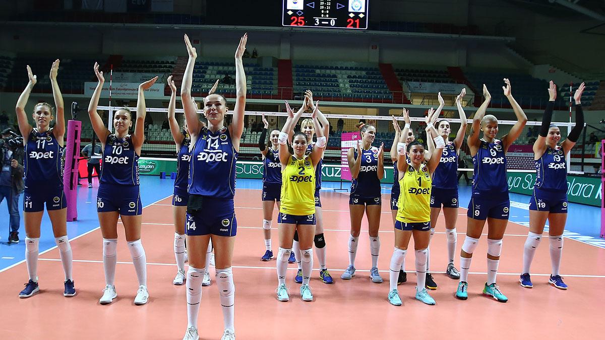 Fenerbahçe Opet 3-0 Nilüfer Belediyespor