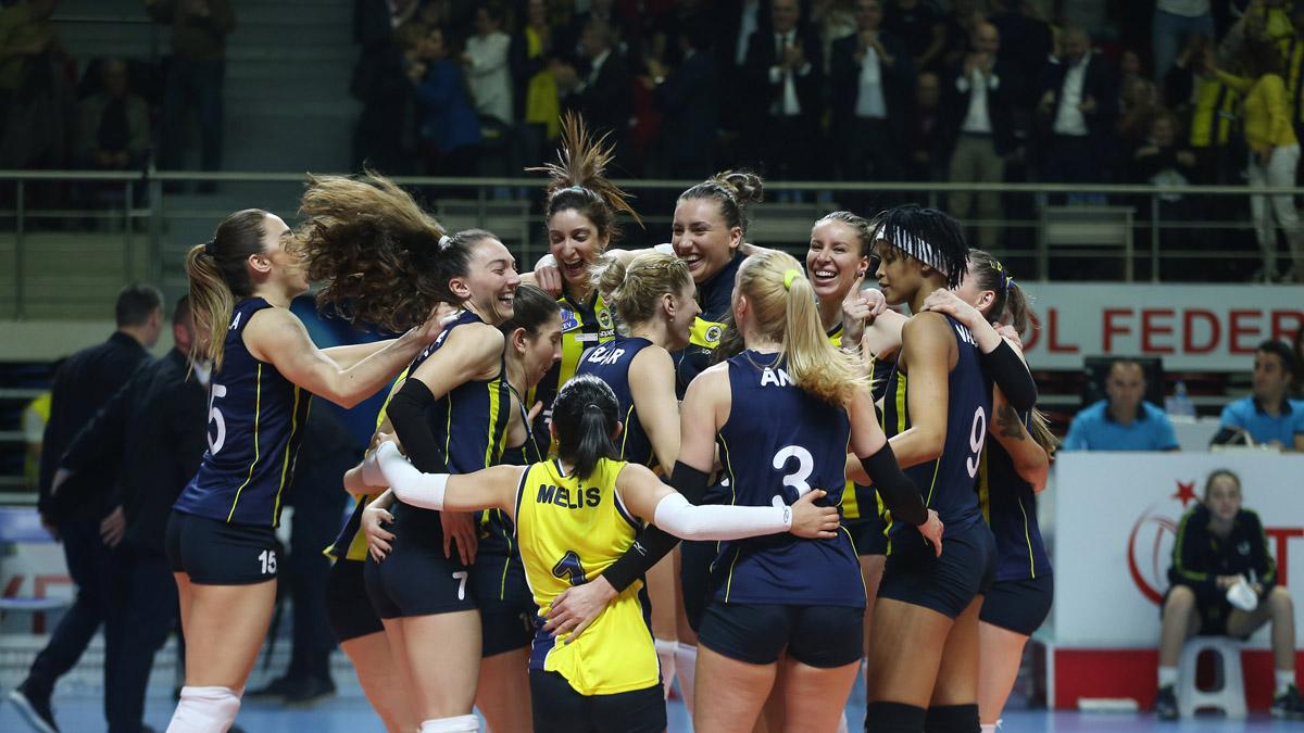 Fenerbahçe Opet CEV Kadınlar Şampiyonlar Ligi'nde yarı finalde
