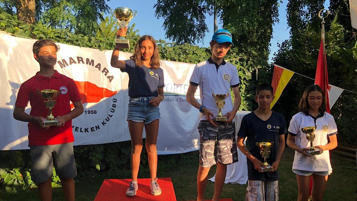 Marmara Yelken Sporturist Kupası Yarışları'nda başarılı sonuçlar