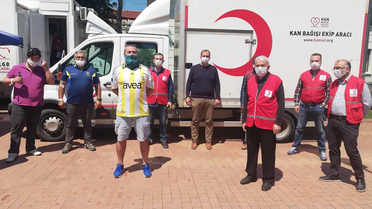 İznik Fenerbahçeliler Derneği'nden kan bağışı kampanyası