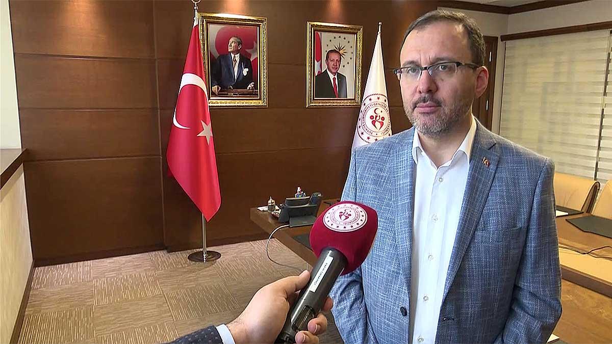 Gençlik ve Spor Bakanı Dr. Mehmet Muharrem Kasapoğlu: Fenerbahçe, Olimpiyata sporcu gönderme noktasında gerçek anlamda katkı ortaya koyan önemli bir paydaşımız