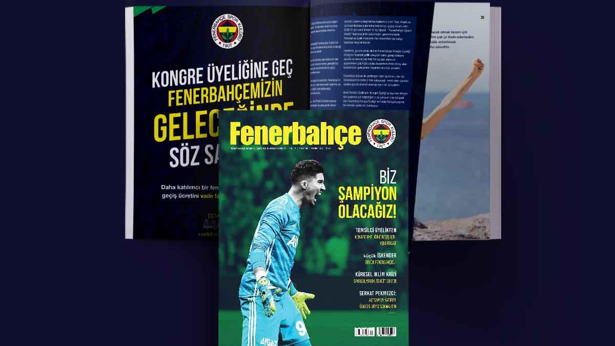 Fenerbahçe Dergisi'nin 200. sayısı bayilerde