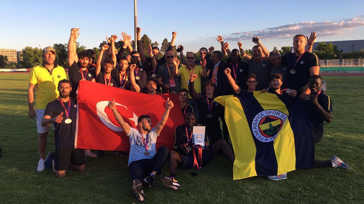 Fenerbahçe Erkek Atletizm Takımımız Avrupa Şampiyon Kulüpler Kupası'nda ikinci oldu