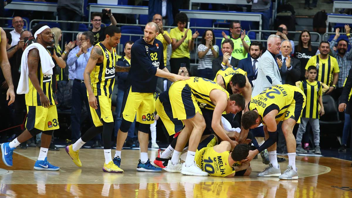 Fenerbahçe Beko, EuroLeague'de normal sezonu galibiyetle tamamladı