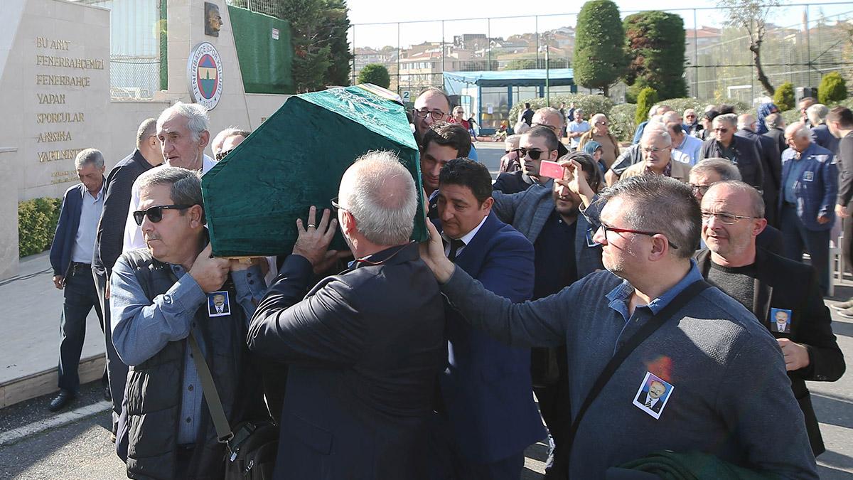 Mehmet Naim Dağlı son yolculuğuna uğurlandı