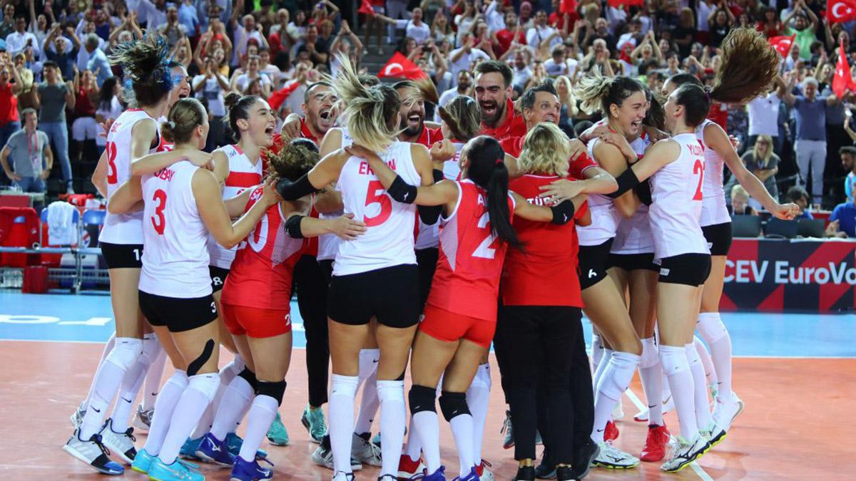 Filenin Sultanları Avrupa Şampiyonası'nda yarı finale yükseldi