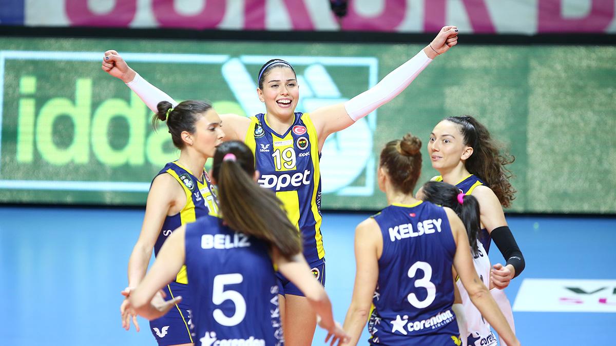 Fenerbahçe Opet 3-0 Karayolları