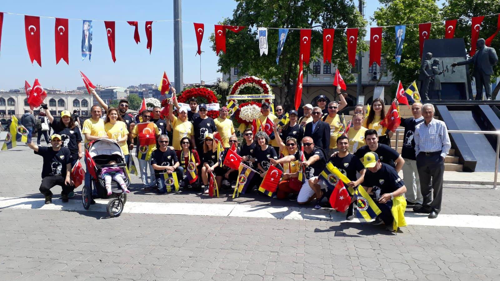 Fenerbahçeli Sporcular Yardımlaşma Derneği'nden 19 Mayıs etkinliği