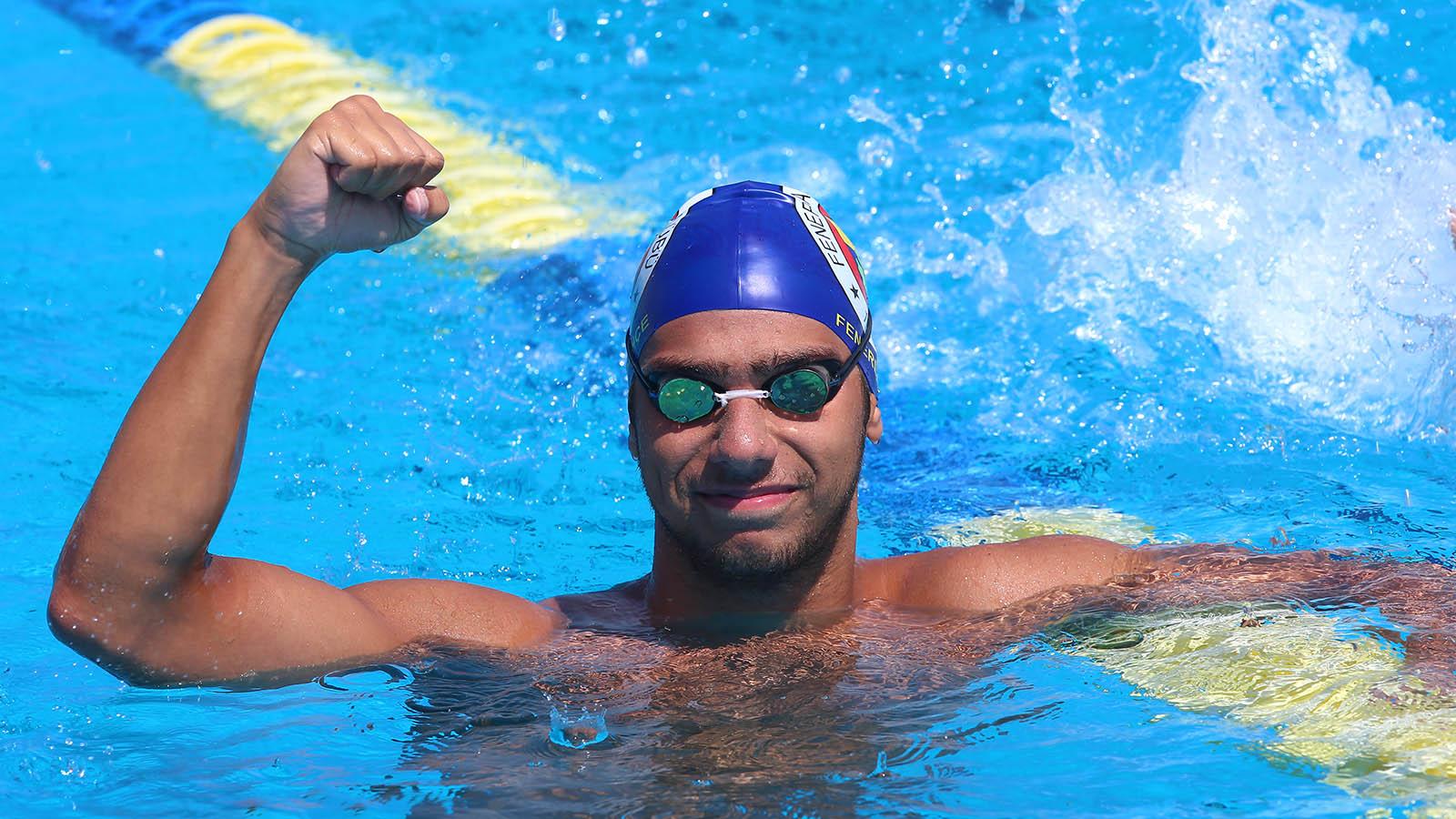 Dünya Gençler Yüzme Şampiyonası'nda 4'üncülük rekorla geldi