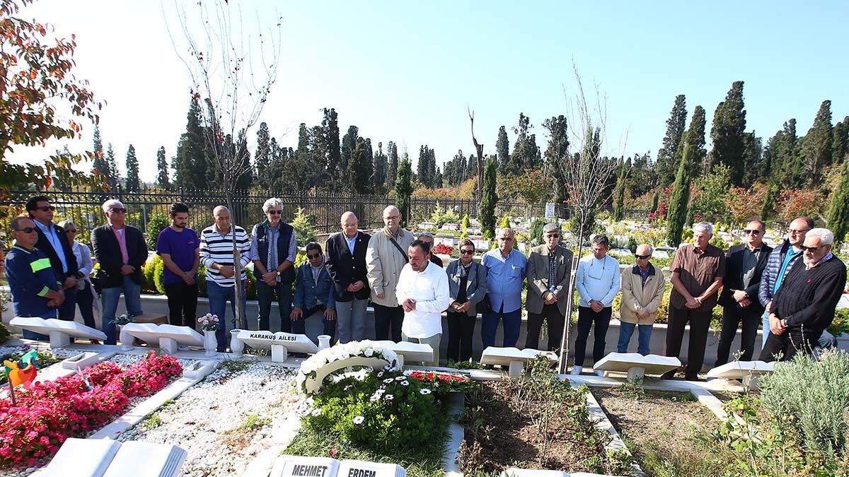 Mehmet Baturalp mezarı başında anıldı