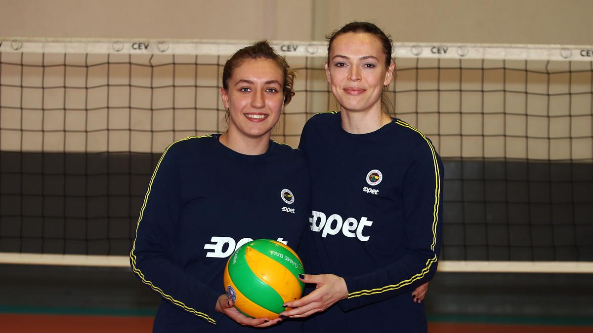 Eda Erdem Dündar ve Sıla Çalışkan'dan Imoco Volley Conegliano maçı öncesi açıklamalar