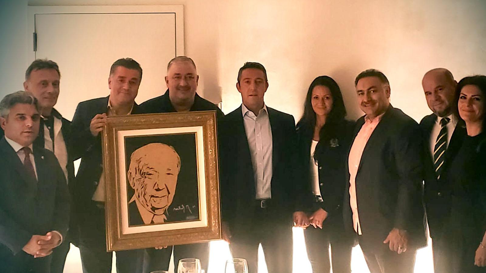 Başkanımız Ali Koç'tan Fenerbahçe USA Derneği'ne ziyaret