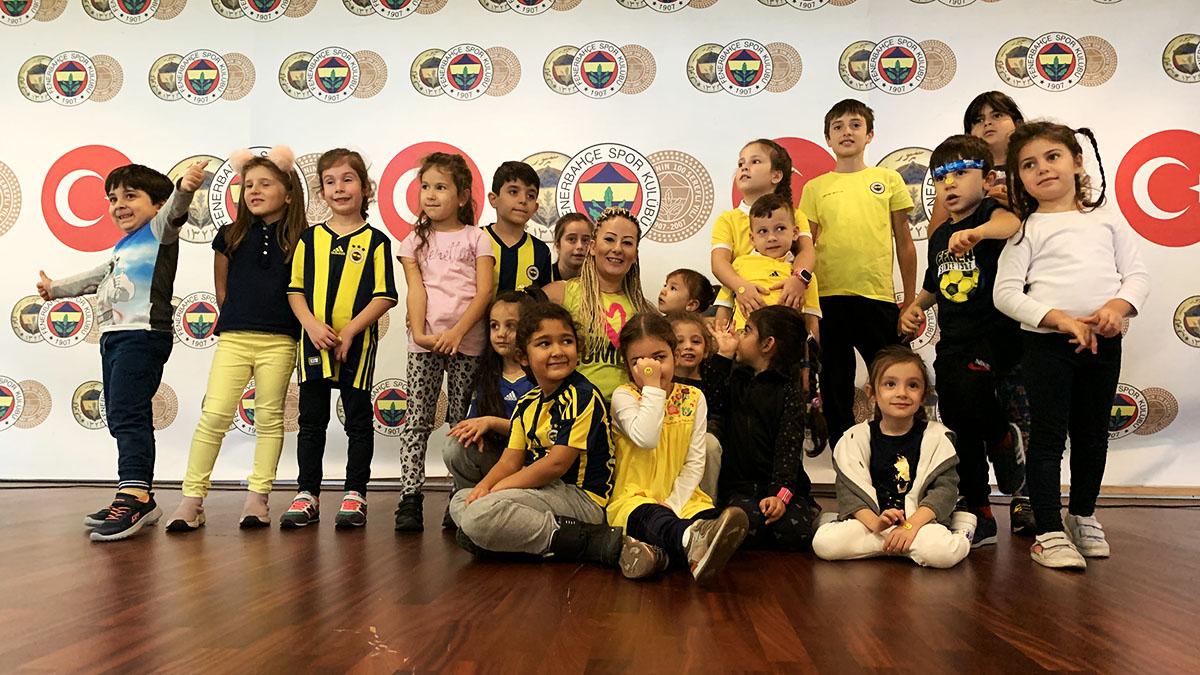 Çocuk ve Gençlik Kulübümüzden Zumba Kids Atölyesinin ilkini gerçekleştirdi