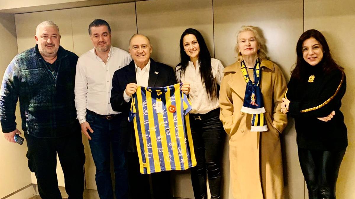 Fenerbahçe USA Derneğimize Yaman Törüner de katıldı
