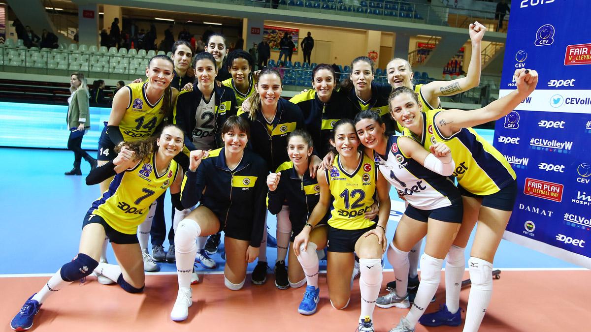 Fenerbahçe Opet, Romanya deplasmanında