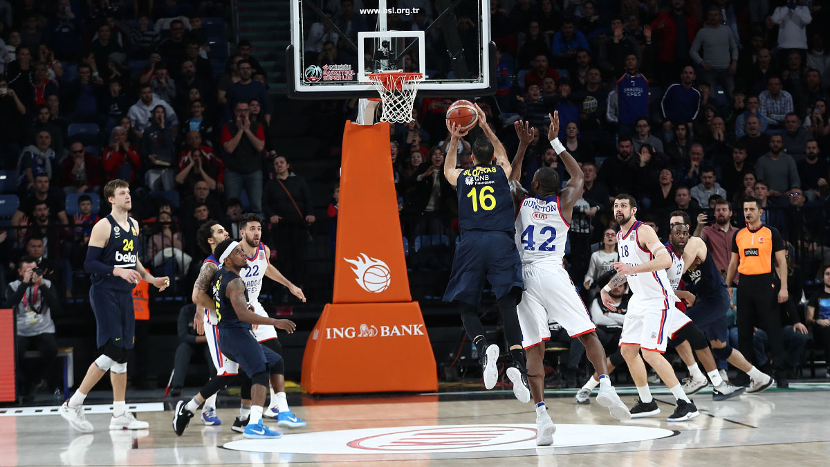 Fenerbahçe Beko'nun Final Four'daki rakibi Anadolu Efes oldu