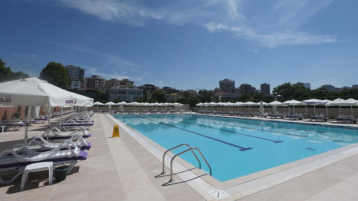 Havuz sezonu 1 Haziran'da başlıyor