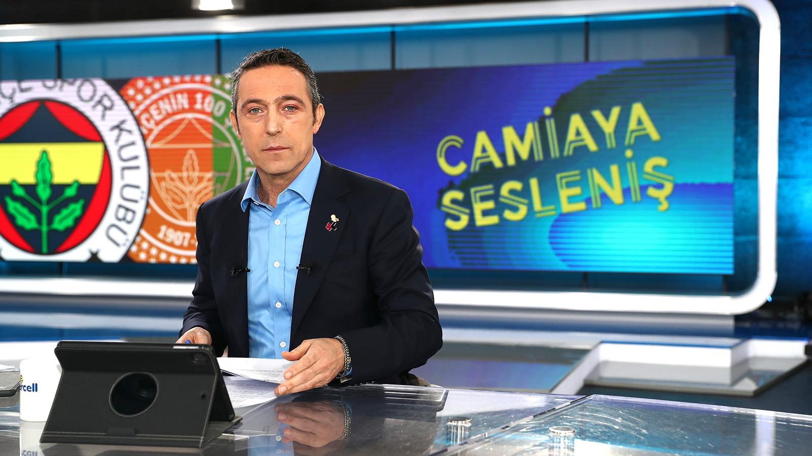 Başkanımız Ali Koç'un Camiaya Sesleniş programındaki açıklamaları