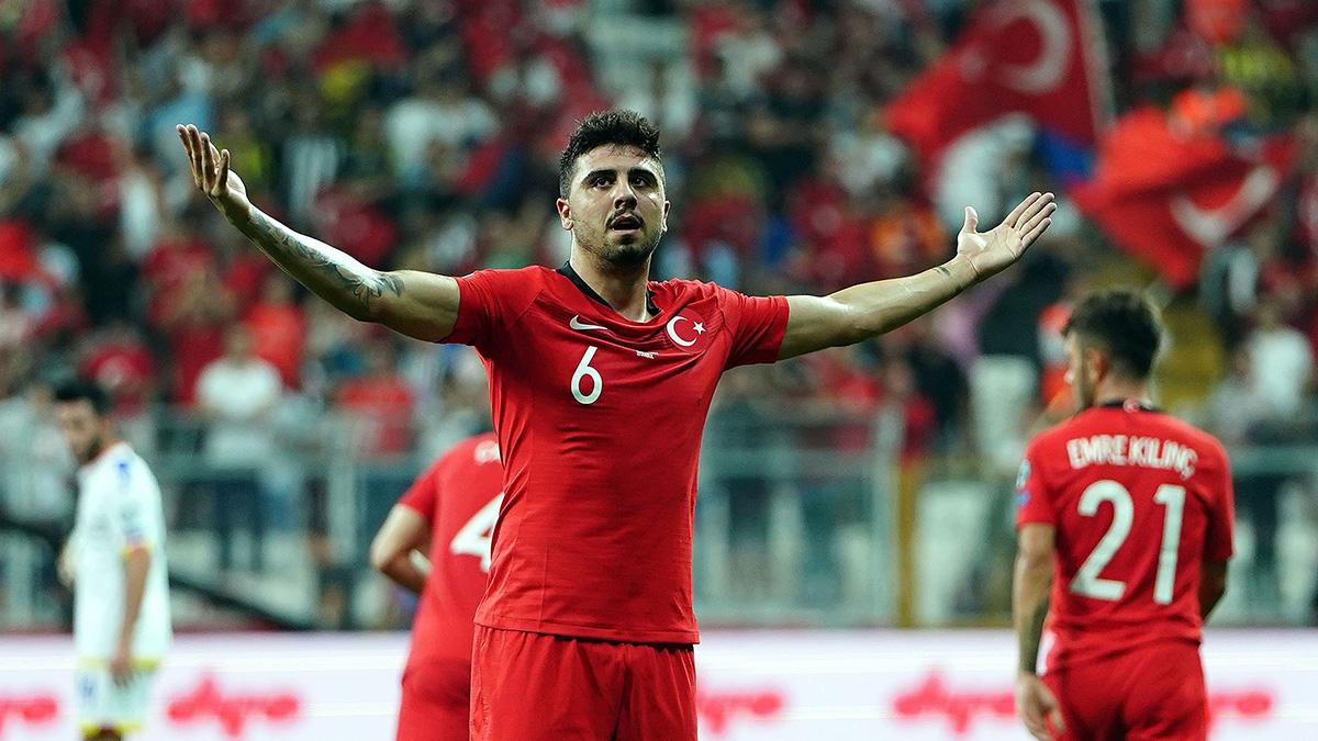 Milli Takımımız Ozan Tufan'ın golüyle kazandı